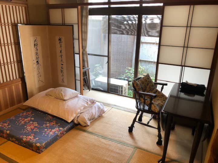 Japanese Traditional Ryokan(hotel)   古民家隠れ家的一人部屋③