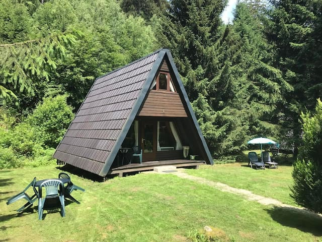 Cozy holiday cottage idyllically situated on the edge of a forest, come out of the house and you are right in the beautiful nature