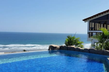 Sonido del Sol vacation home with ocean view - Olon - Σπίτι