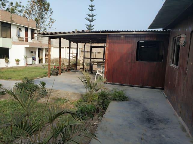 Sol aire y energia casa de campo