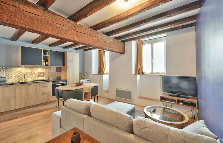 Beautiful apartment of 37m² in the center!
