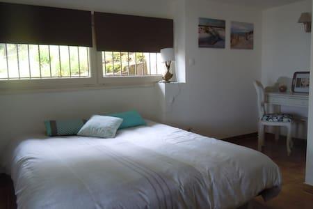 Appartement avec vue exceptionnelle piscine, tenis - Laroque-des-Albères