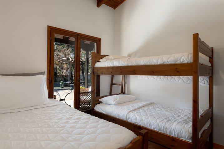 Third bedroom (1 bunk & 1 single bed)