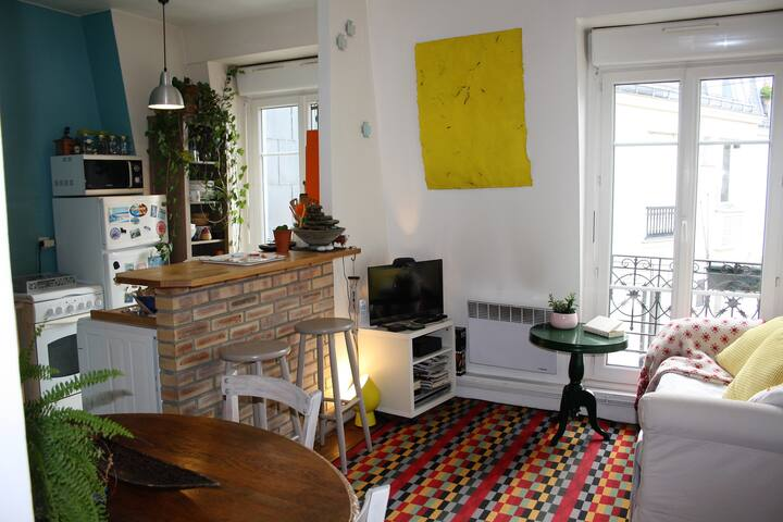Charmant appartement Montmartre