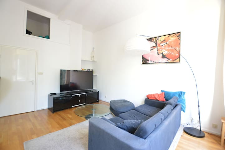 Bright apartment on the edge of the city center! - Amsterdam - Apartment
