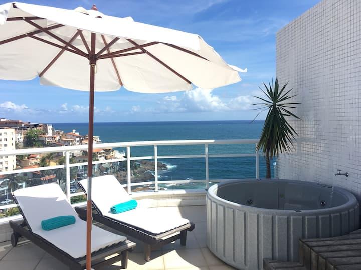 Cobertura Ondina Vista Mar (Sea View Rooftop)