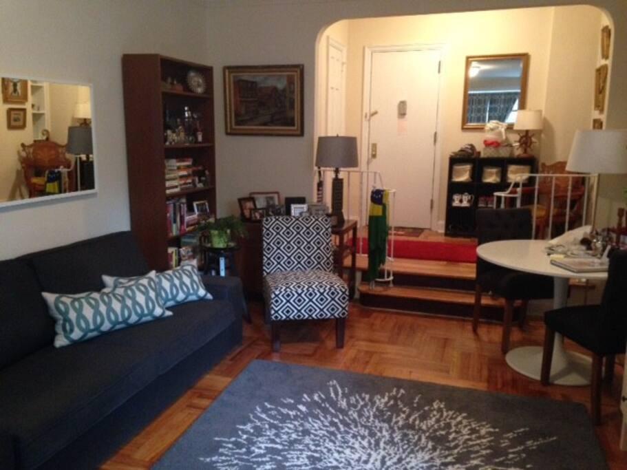 Living area...