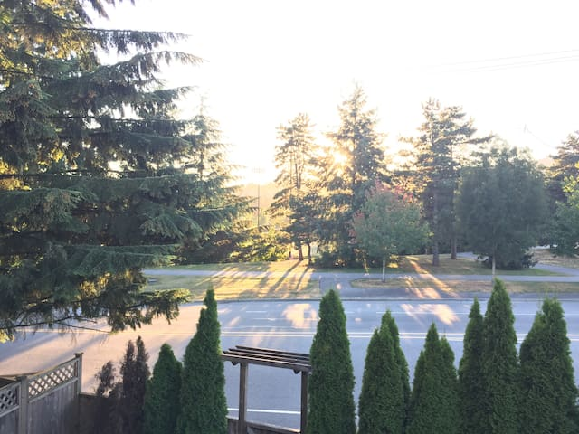 Family, private, and comfortable - Coquitlam - Casa