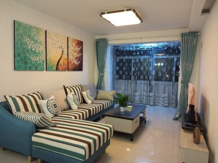 费家营十字,两室一厅阳光充沛的大床房整租。