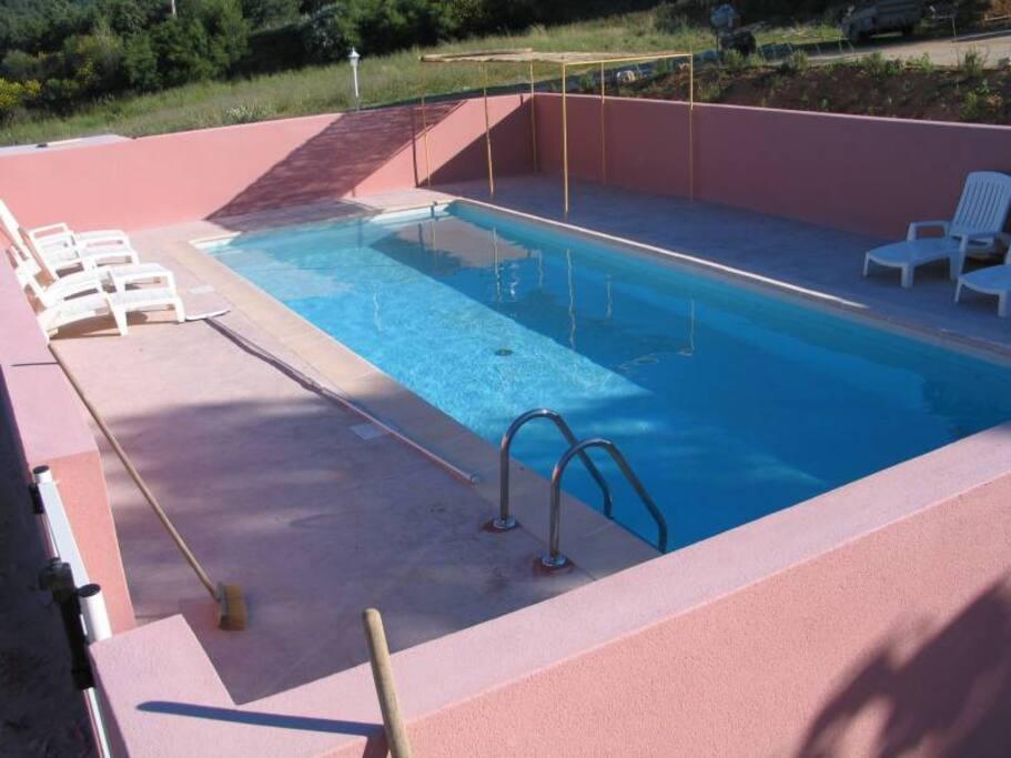 piscine maison Peupliers