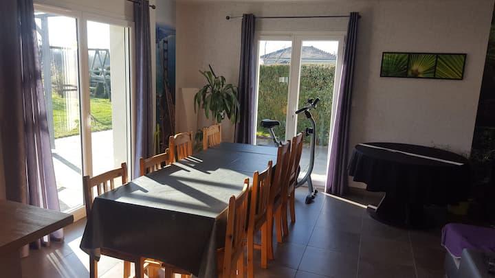 1 Chambre + espace commun à Montfaucon