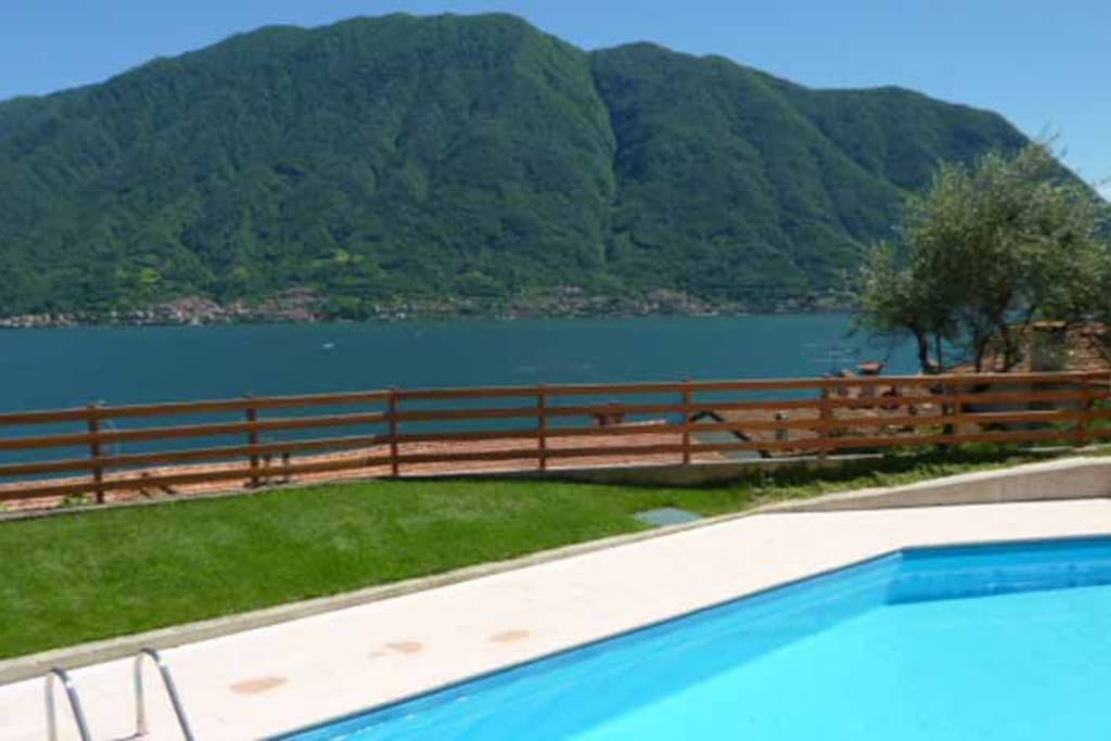 """""""The pool was nice and clean. We were there in July and we had the pool for ourselves for a large stretches of time. It was a bit busier in the weekends when the Italians dropped by but newer crowded""""."""