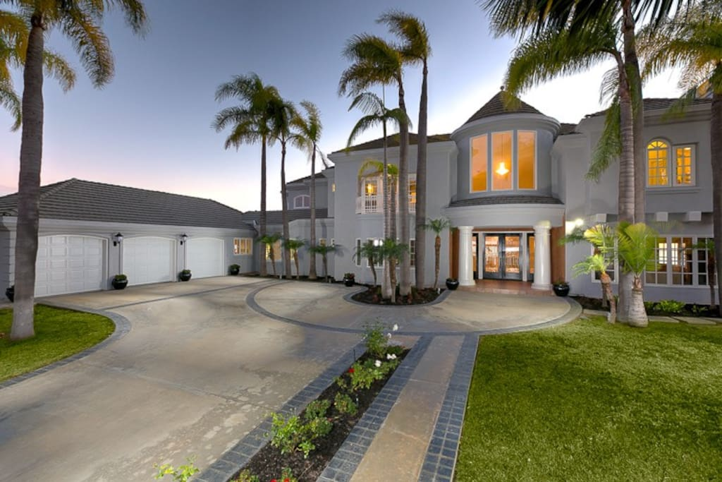 "Welcome to ""View of the Pacific Estate - a beautiful home on a 1/2 acre lot."