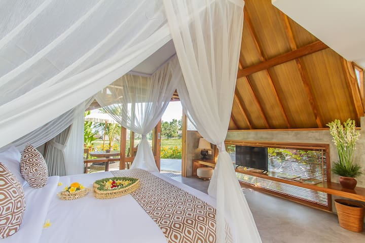 Lasamana Exotic Hideaway with Rice Field View