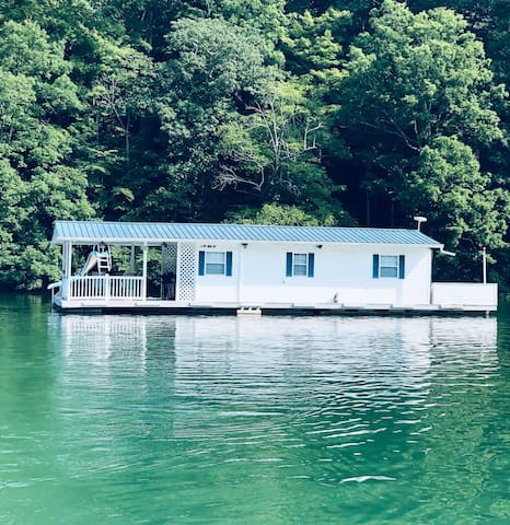 Another Day In Paradise — Floating Cottage
