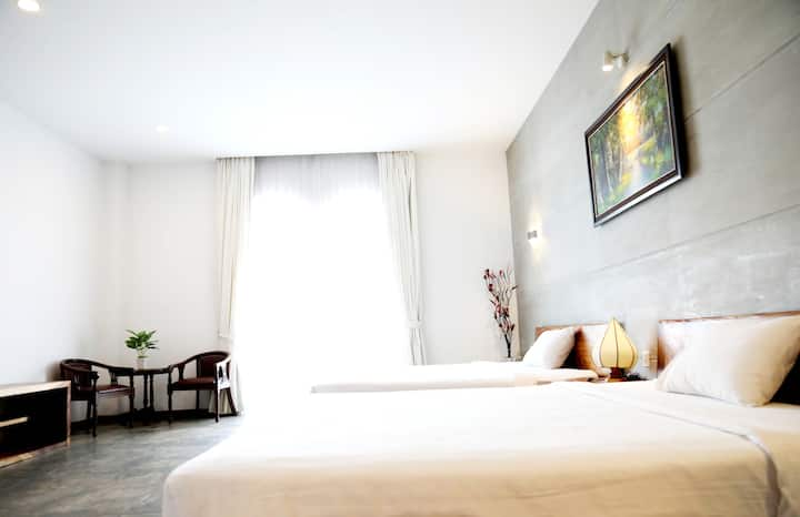 Deluxe double-double room (D.I Residence)