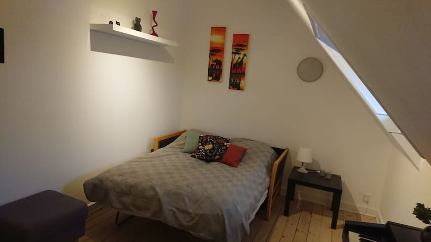 Cozy room 12min from CPH Center