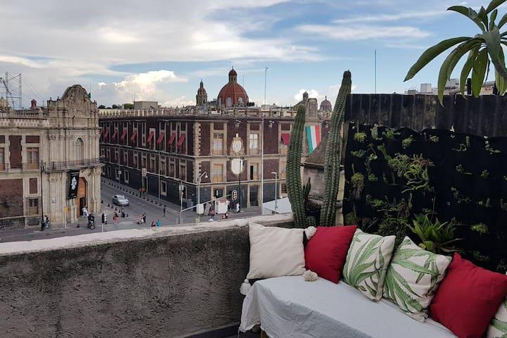 breathtaking historic private terrace 2bdrm flat