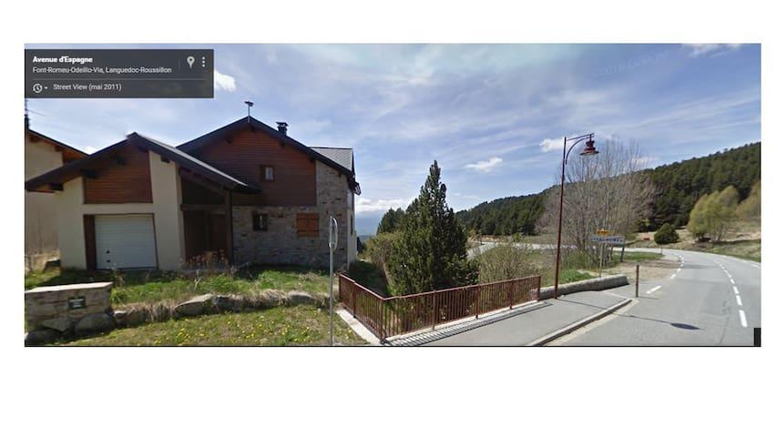 Chalet en plena montaña con bonitas vistas - Font-Romeu-Odeillo-Via - Haus