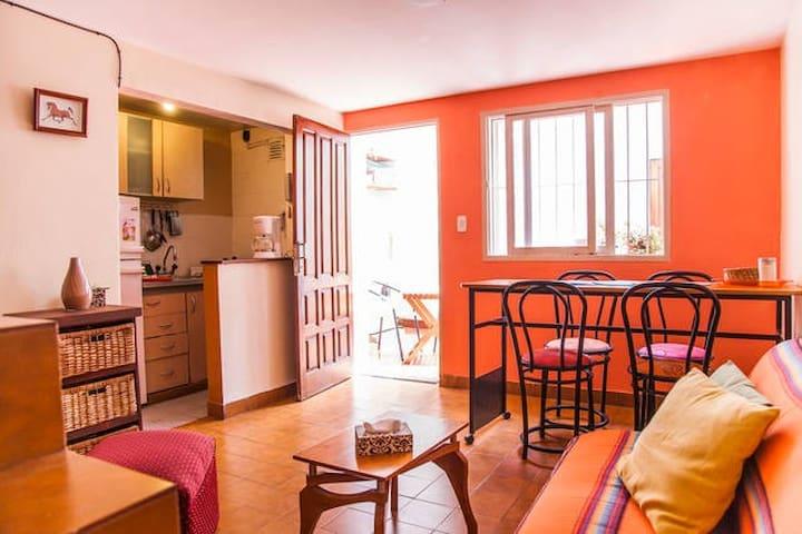 Apt luminoso con patio /lavadero en San Cristobal - Buenos Aires - Apto. en complejo residencial