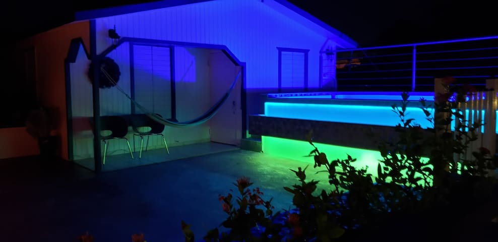 Now with Pool!  Shades of Blue House.