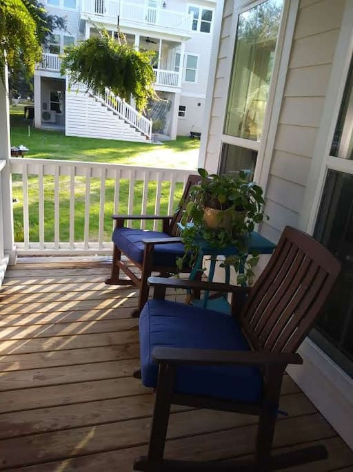 Relax on the front porch with some sweet tea!