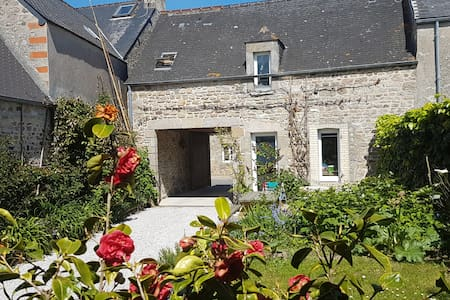 a 3 rooms house 80 m from the beach - Réville - Haus