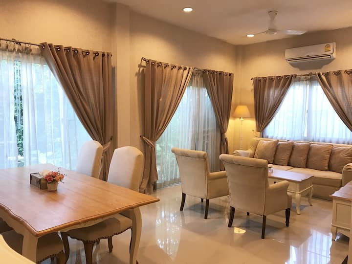 Lovely 3 BR family house for rent in Hua Hin