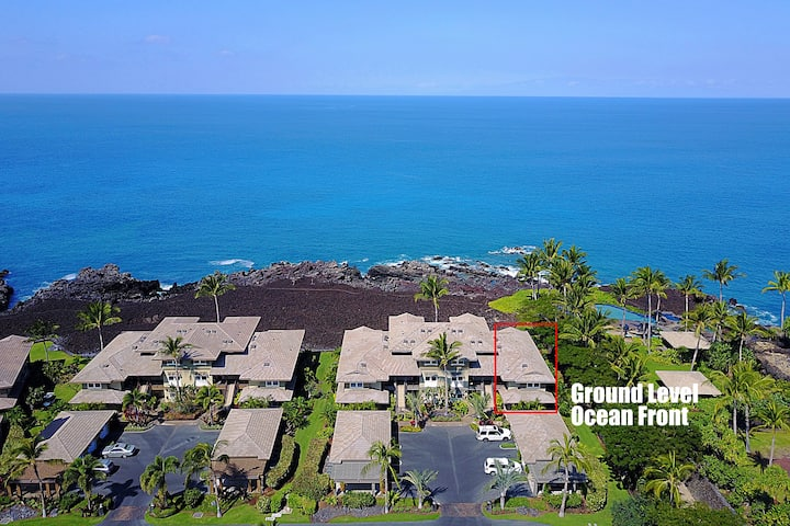 Ocean Front at Hali'i Kai Resort, 3 bedroom 2 Bath