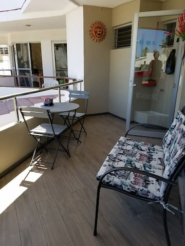 Newly remodeled patio