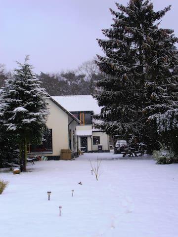 Vrijstaand huisje bij de Veluwe