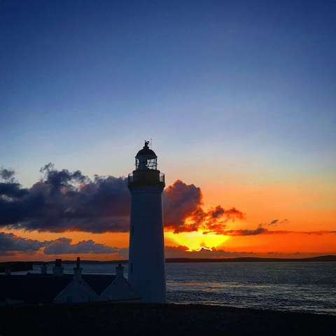 Stunning sunrises and sunsets