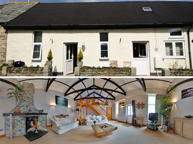 Guinevere, a romantic Tintagel holiday cottage