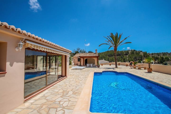 Santa Ana - pretty holiday property with garden and private pool in Benissa