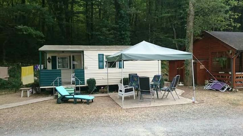 Comfortabele mobile home Dordogne - Tourtoirac - Andet