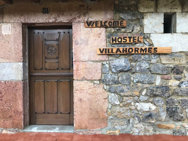 Cama en Habitacion compartida Camino Villahormes