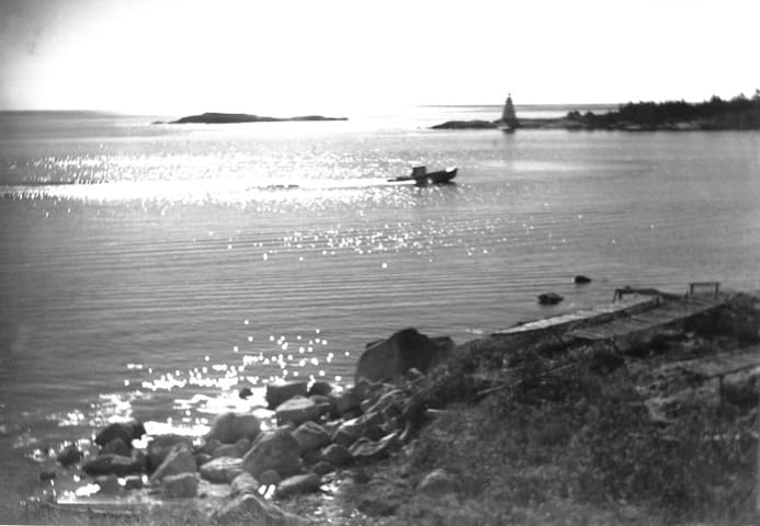 W.R. MacAskill photograph taken between 1920-1938 with our property in the foreground. NS Archives Photograph #200320623 https://novascotia.ca/archives/search/?q=indian+harbour%2C+ns.