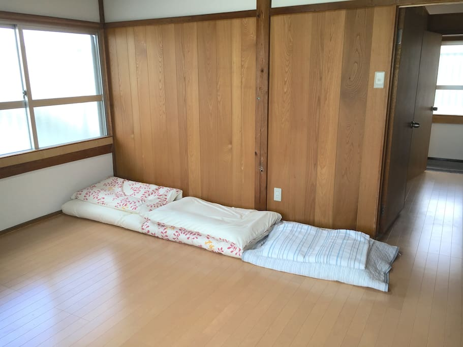 3 sets of Futon on the 2nd Floor Bedroom