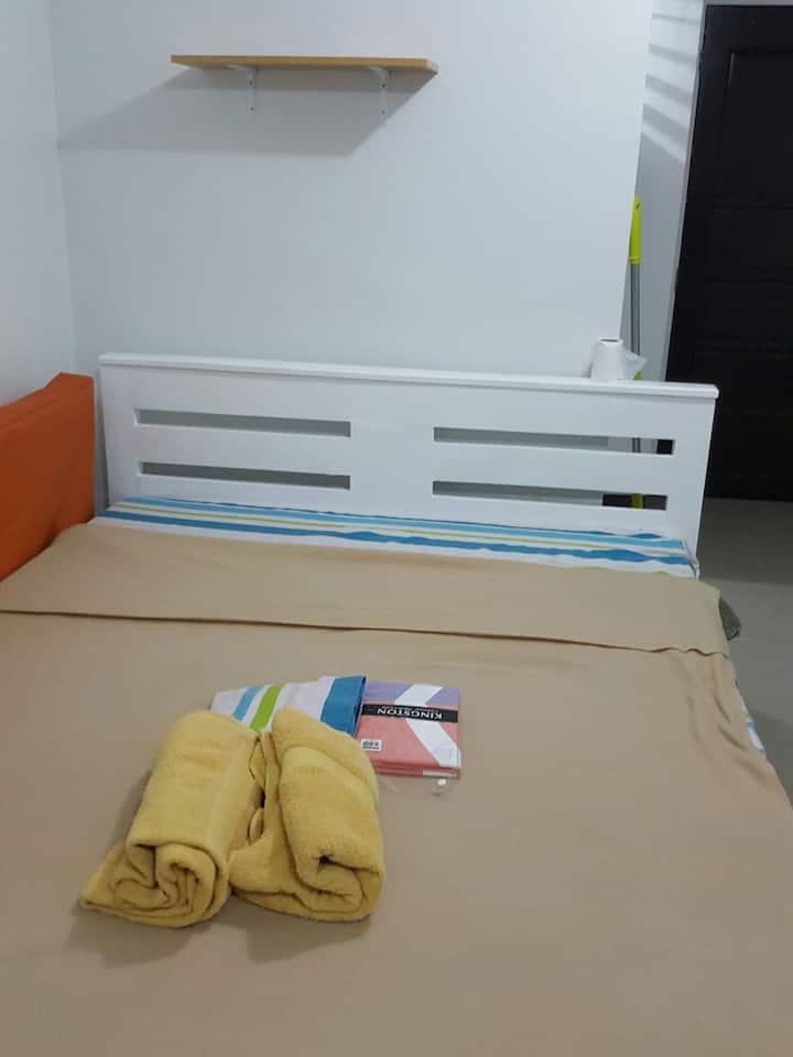 CONDO full furnished with wifi, near ParkmallJmall