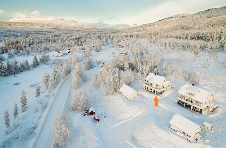 Lovely house 6 mins drive from Trysil ski resort - Nybergsund - Talo