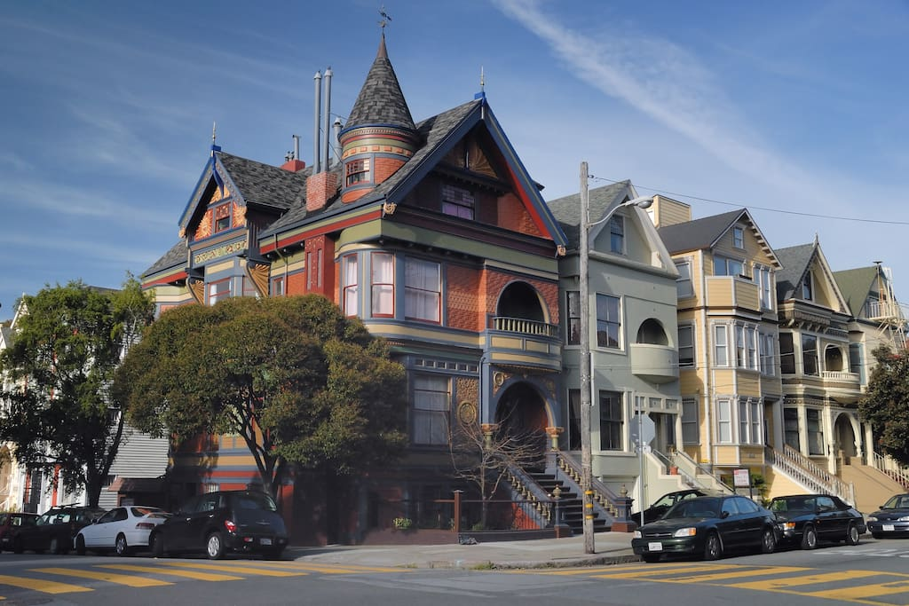 Haight ashbury painted lady studio appartements en - Residence inversee studios architecture en californie ...