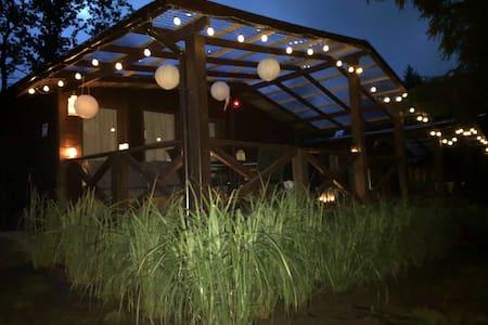 Wyjątkowo spokojne miejsce na wypoczynek domek 1