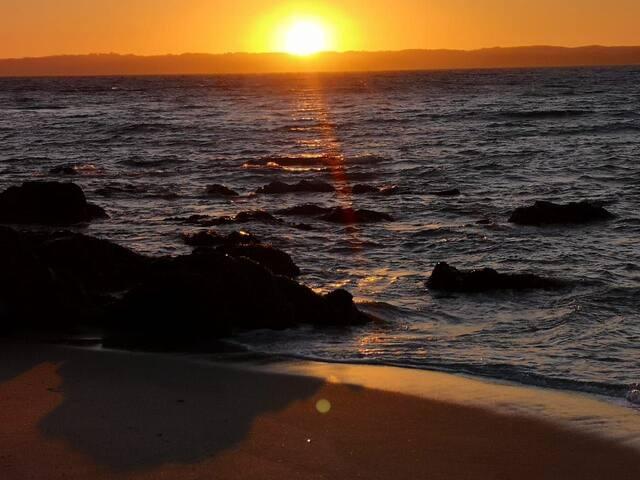 Hermosa cabaña a 5 minutos en auto de la playa