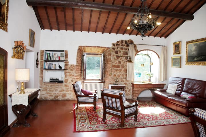 """Ancient Tuscany Villa """"Meletrino"""", free WiFi"""