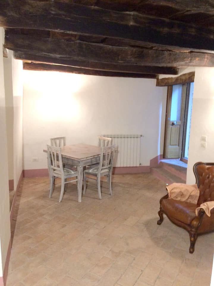 House with one bedroom in Stroncone, with wonderful city view