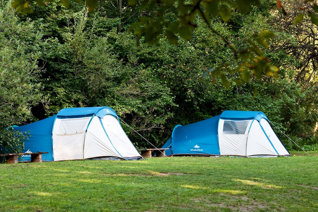 Our rental tents