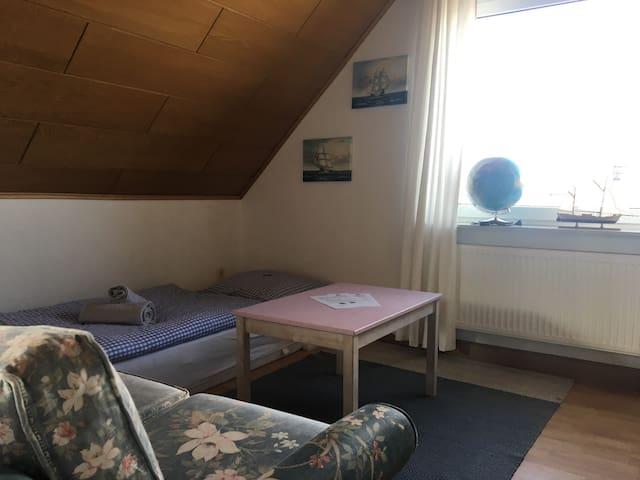 Wohnzimmer als 3. Schlafraum