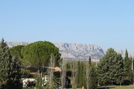 Gîte climatisé avec piscine à 15 minutes d'Aix - Aix en Provence
