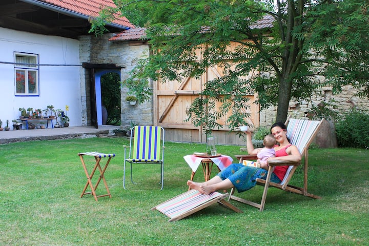 ☼ Relaxing Stay in Nature Home near Litomyšl ☼
