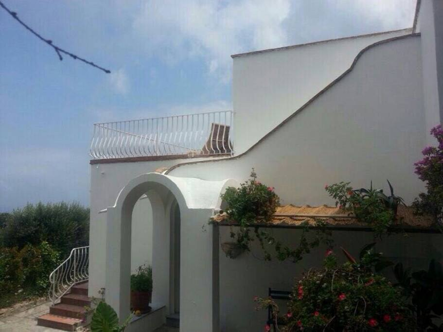 Our Little Caprese Home, surrounded by a huge garden